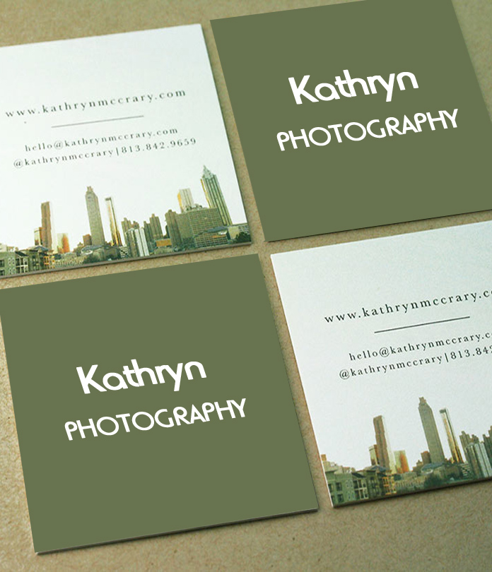 Square Shape Business Card Printing